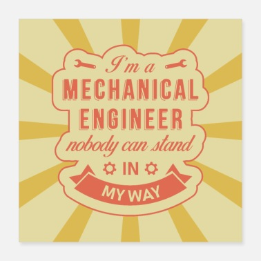 Ingenieur Mechanical Engineer - Poster