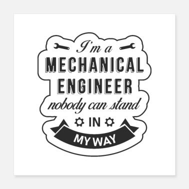 Mechanic Mechanical engineer - Poster