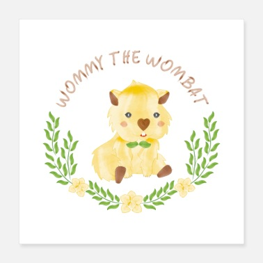 Wommy the wombat - Poster