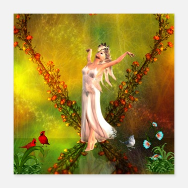 Fairies Beautiful fairy - Poster