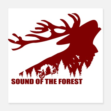 Sound Sound of the forest - Poster