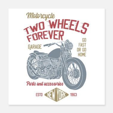 Two-wheeled TWO WHEELS - Poster