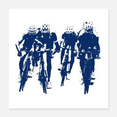 Sprinting Cycling ~ Cycling - Poster