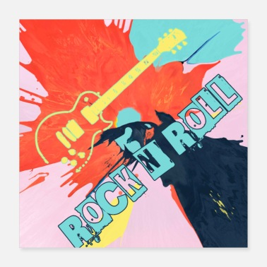 Rock-kleidung Rock n Roll - Poster