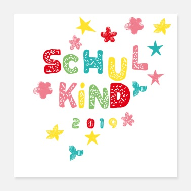 Back To School Schoolchild 2019 - Poster