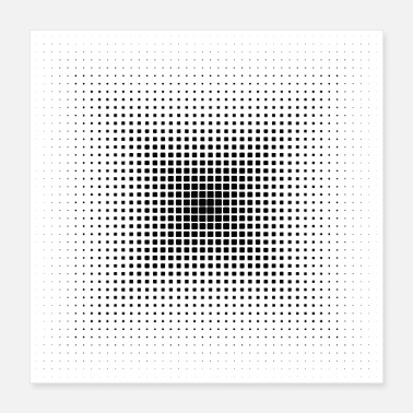 Rectangle Rectangle Pattern - Poster