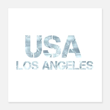 Los Angeles USA LOS ANGELES - Poster