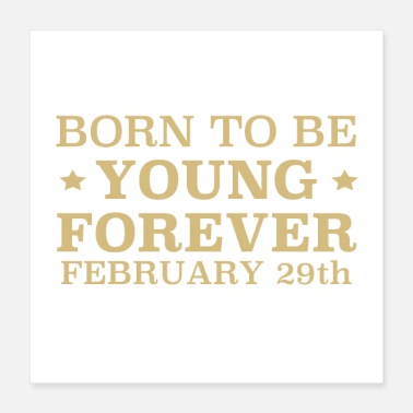 February Born on February 29th - Poster
