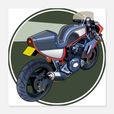 Racing Motorcycle Sports motorcycle - Poster
