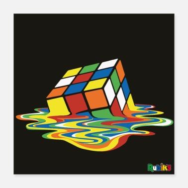 Rubik's Melting Cube - Poster