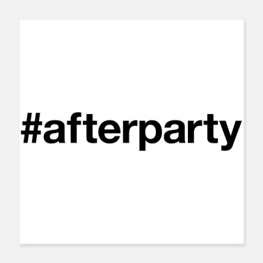 House AFTER PARTY - Poster