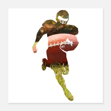 Football American Football American Football Player - Poster