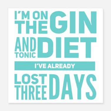Londres Gin-tonic - Poster