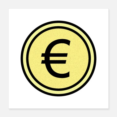 Wealthy eurocoin - Poster