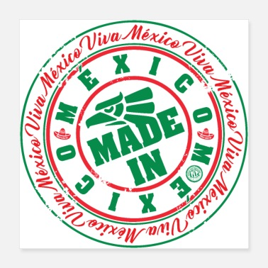 Mexico Made In Mexico - Poster