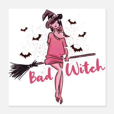 Bad Bad Witch - Poster