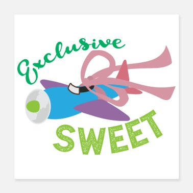 Aircraft Nose Art Exclusive Sweet Flugzeug Kinder - Poster