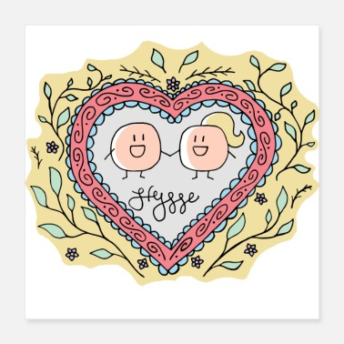 Little Creatures Hygge - Forever Love - Poster
