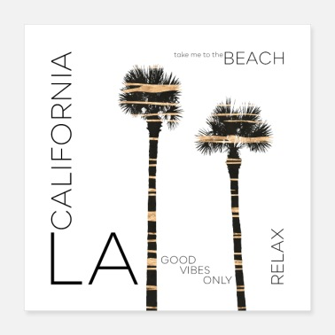 Urban Art LA Palms - Poster