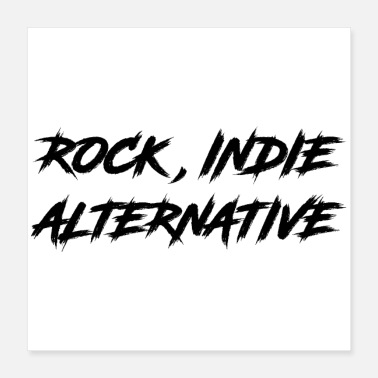 Indie ROCK, INDIE, ALTERNATIV - Poster