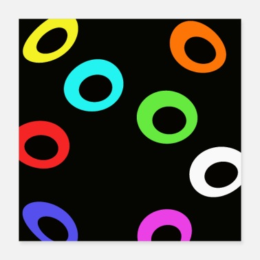 Ring Flying rings - Poster