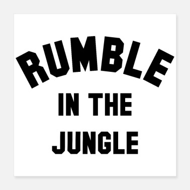 Punch RUMBLE IN THE JUNGLE - Poster