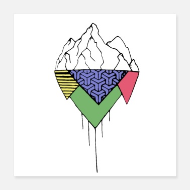 Mountains mountains - Poster