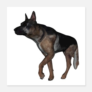 Shepherd German shepherd - Poster