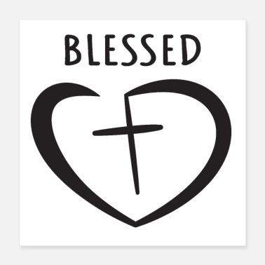 Religious Blessed, religion, bible - Poster