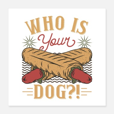 Fast Hot Dog Fast Fast Food Gift Idea - Poster