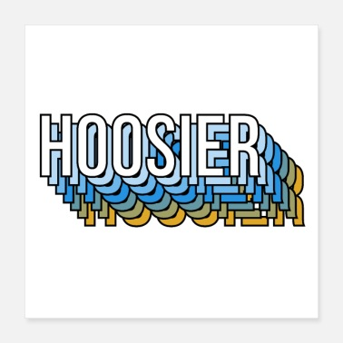 United States Hoosier - Poster
