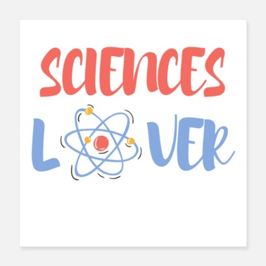 Atome Sciences lover - ATOME - Poster