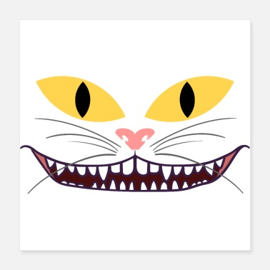 Bouche Masque de chat chat chats protection de la bouche chat maman chat - Poster