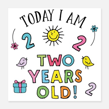 Two two birthday - Poster