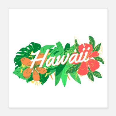 Hawaï Hawaï tropical - Poster