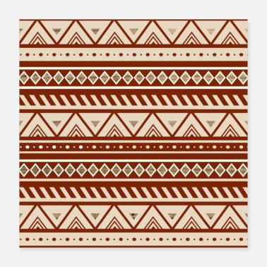 Native Native American Pattern - Poster