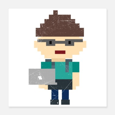 Software Software developer programmer geek gift - Poster