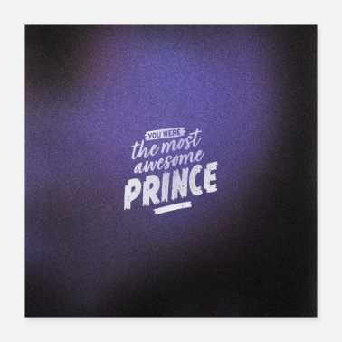 Minnesota The Most Awesome Prince in Purple - Poster