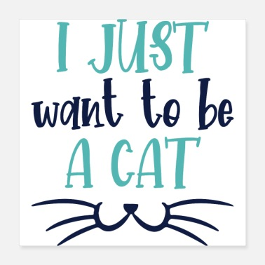 Cat Lover Quotes Cats Lover Gifts - Poster