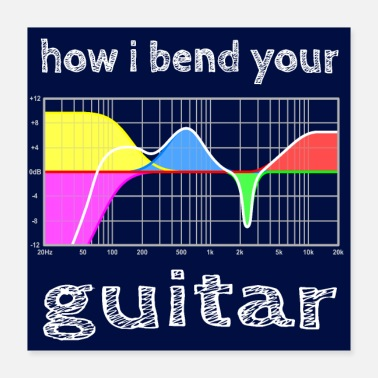 Sound Engineering how i bend your guitar - hgr1 - Poster