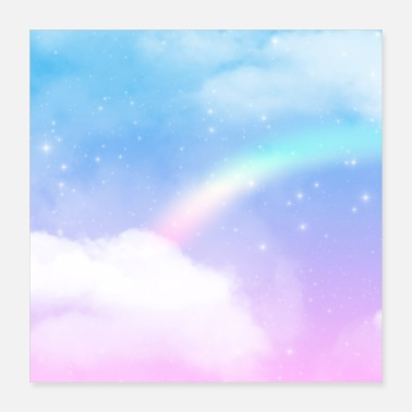 Heaven Vakker Fantasy Sky Clouds Dreamy Heaven - Poster