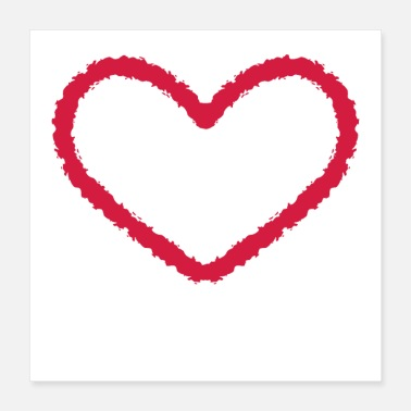 Love Heart Heart love little hearts romantic love gift - Poster