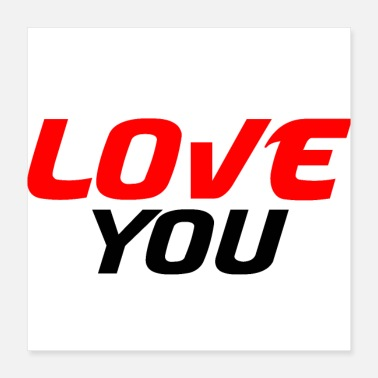 I Heart I love you - Poster