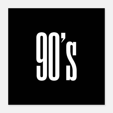 90s 90's 90's 90's - Poster