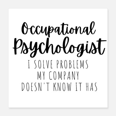 Occupational Psychologist - Poster