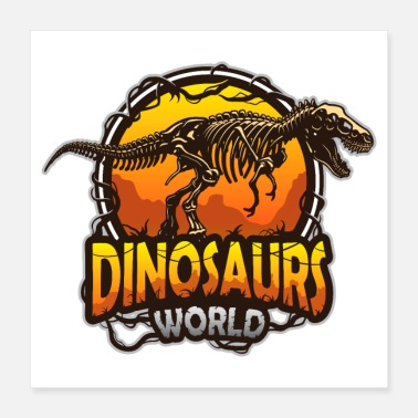 Ur Dinosaur World I Dinosaurs World - Poster