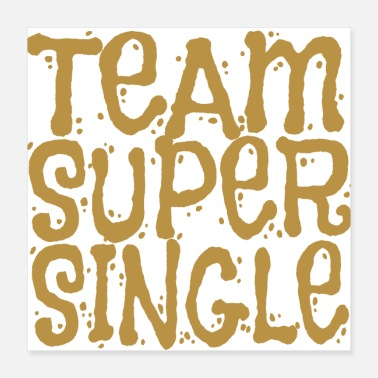 Single Team Super Single (Gold) Single Gift enz - Poster