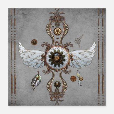 Alas Wonderful noble steampunk design - Poster