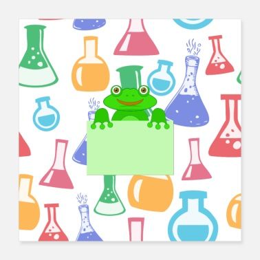 Chemical Chemical frog - Poster