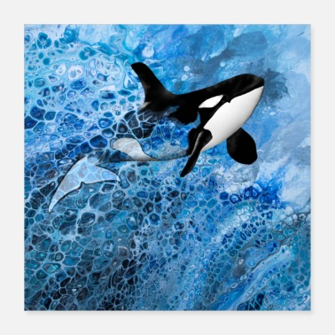 Orca Orca - Pouring - Poster